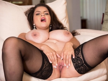 Alaura Grey - Solo BBW video