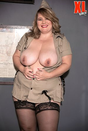 CJ Woods - Solo BBW photos