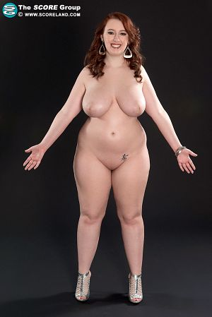 Felicia Clover - Behind The Scenes BBW photos