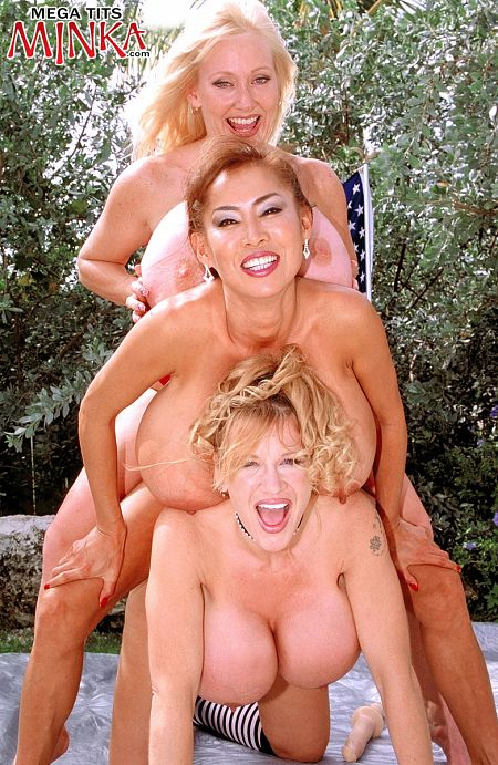 Minka - Girl Girl Big Tits photos