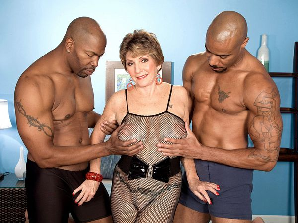 Bea's first interracial three-way