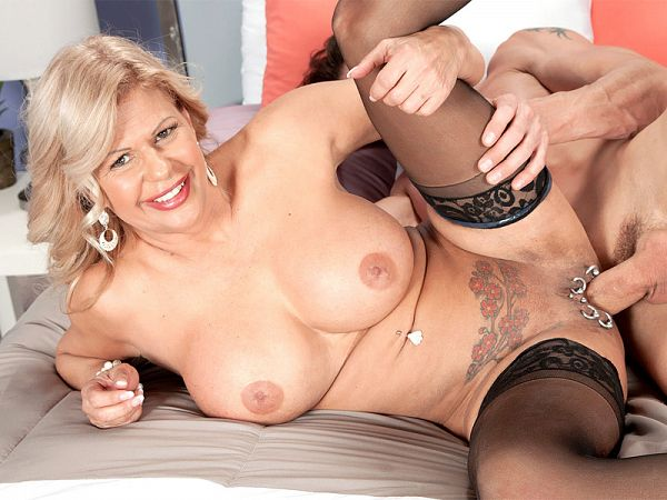 Busty bosses with pierced pussies love hard cocks