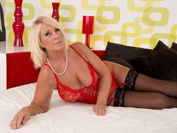 A 60something Czech hottie named Regi