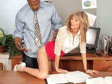 Jessica violates the dress code, H.R. guy violates Jessica