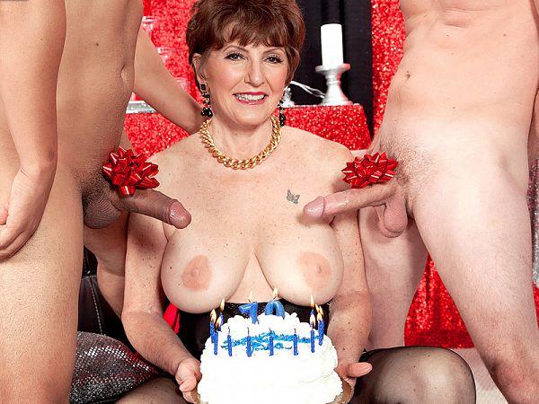 Bea Cummins' 70th birthday anal blast
