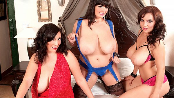 Arianna, Michelle and Lana in Big Boob Finishing School