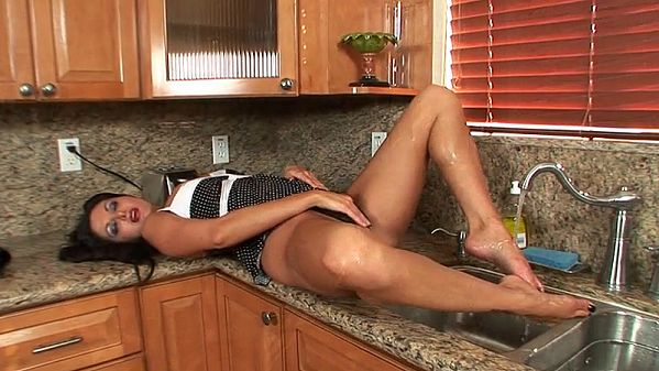 Ava Addams Clean Toes