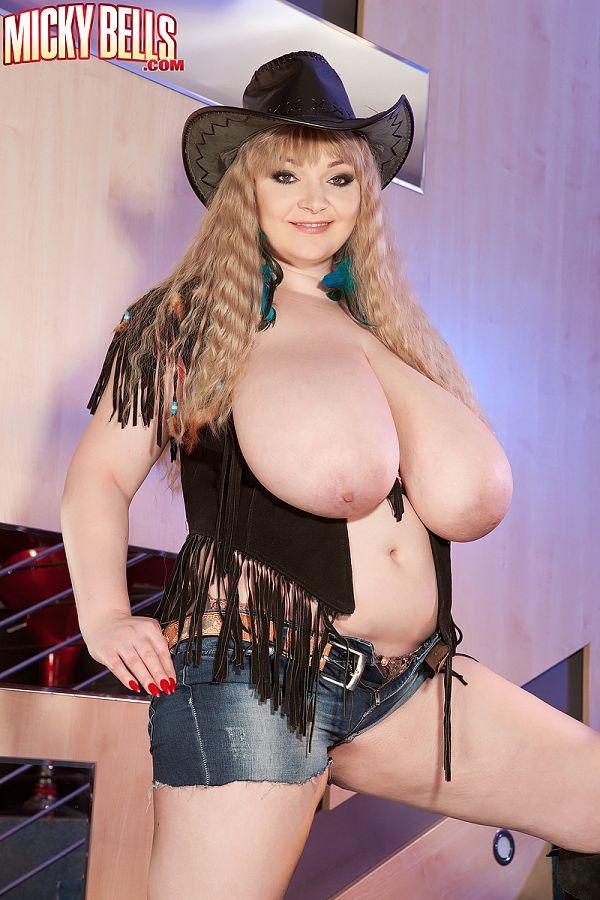 Even Cowgirls Grow Huge Boobs