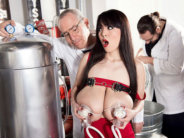 Holy Cow! The Milking Of Sweet Hitomi
