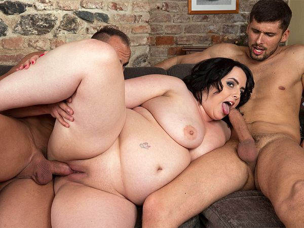 Sarah Jane Gets Happy With Two Studs