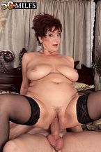 White mature women with big asses