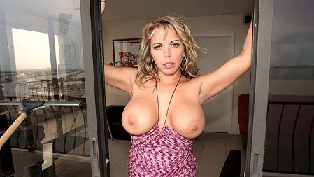 Amber Lynn Bach - Solo Big Tits video