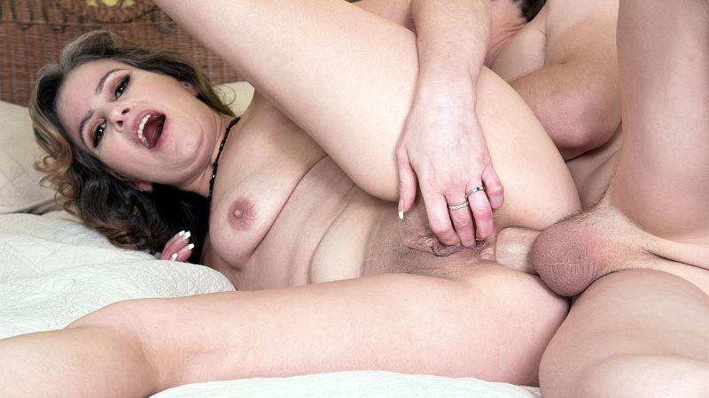 Big boob stocking