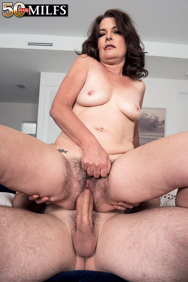 Hairy pussy and a fucked ass