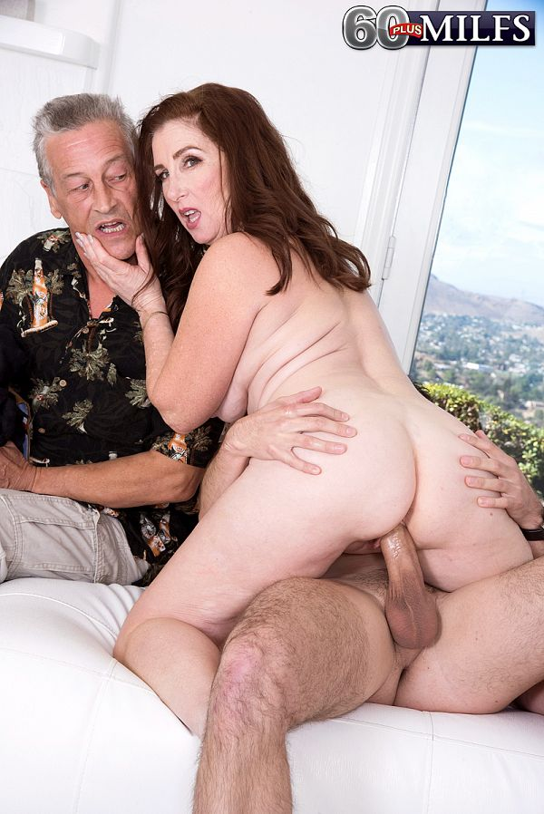 Maria gets ass-fucked. Her husband watches.