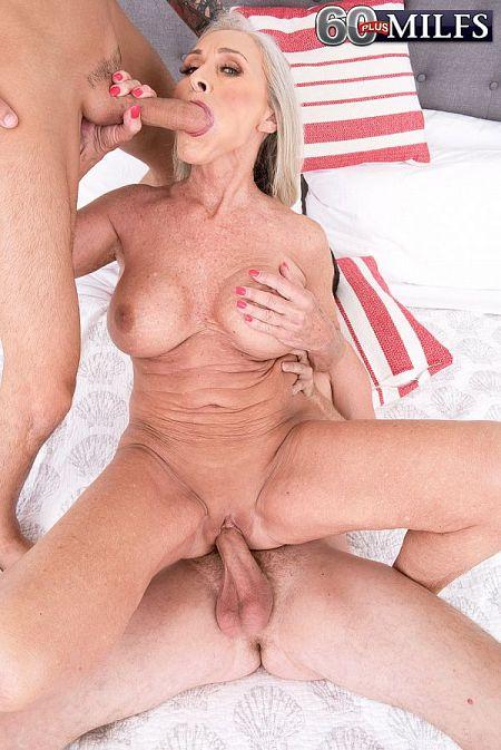 Katia's first threesome
