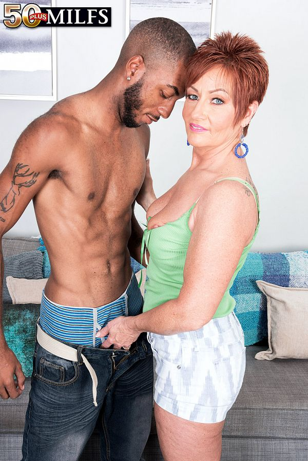 Young, black cock for MILF Ruby O'Connor