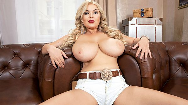 Diana Frost Busty Euro Cowgirl