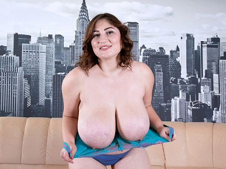 Ivanna Lace - Solo BBW video