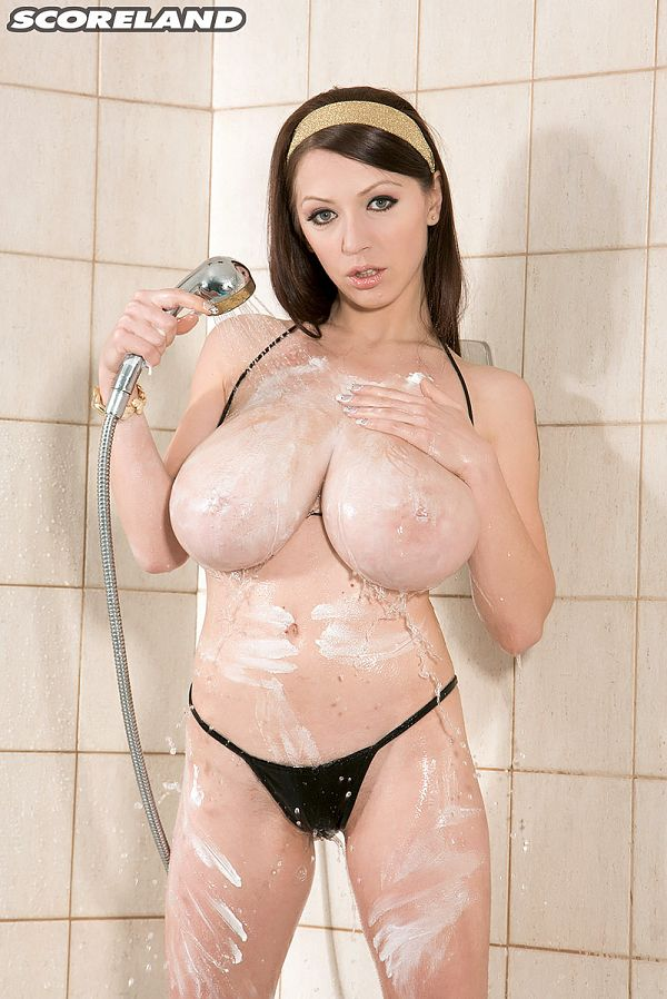 Bikini Shower With Merilyn Sakova