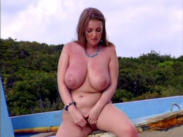 Bonnie Banks Gets Her Boobs Out In The Bahamas