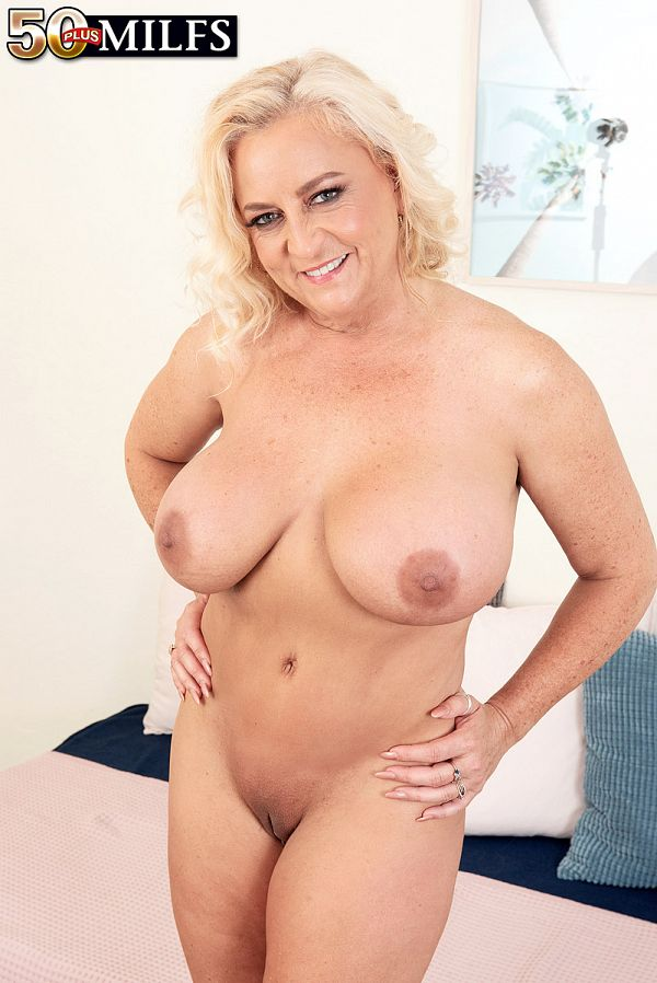 Busty and wet MILF