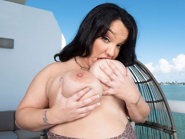 Kash Bella: Ocean View Comes With Big Boobs