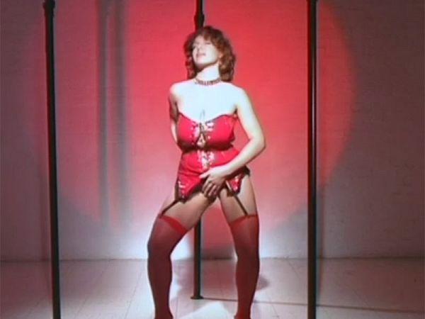 Katie's Triple-pole Strip Dance