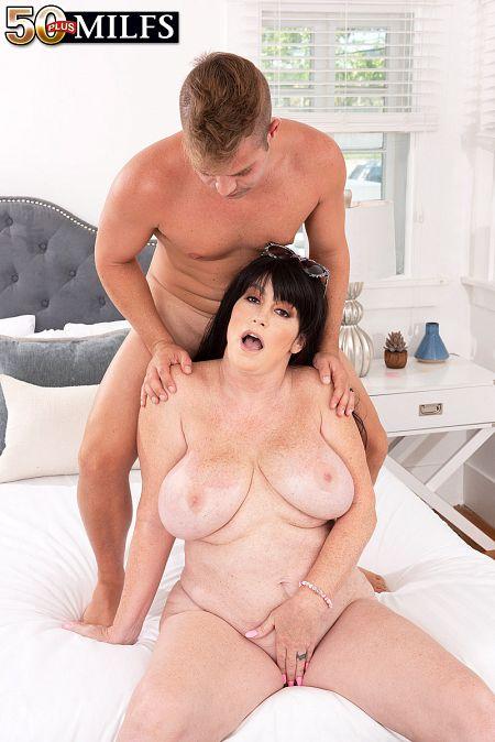 Sherry's step-son fucks her ass