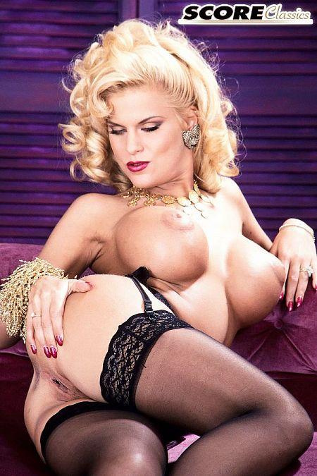 Tina Cheri: The Blonde in Black Stockings