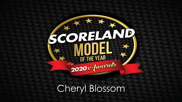 Cheryl Blossom: SCORELAND Model of the Year 2020