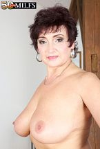 A big cock for the busty hairdresser