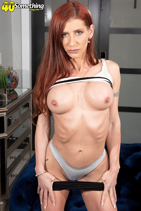 Gabby Lamb spreads very wide for you