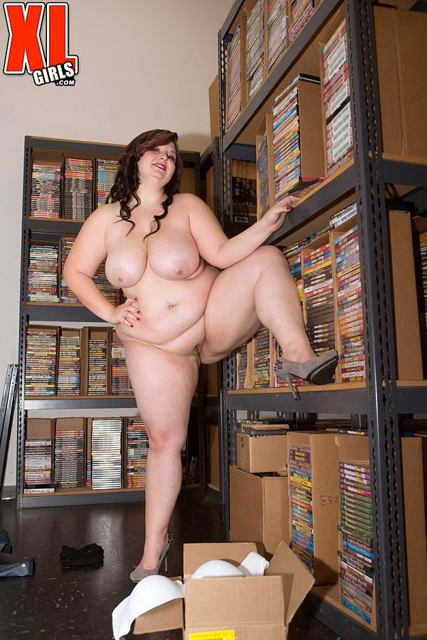 Lucy Lenore Naked in the Warehouse