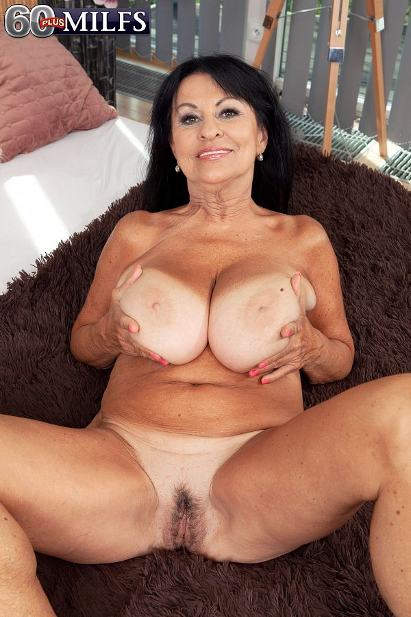 She's 64 and she's super-busty