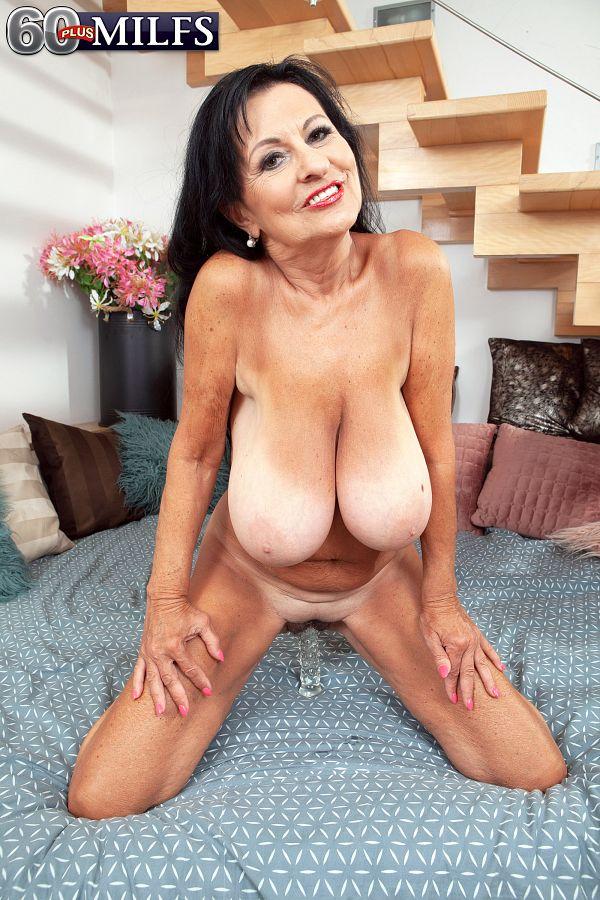 Granny's got tits!