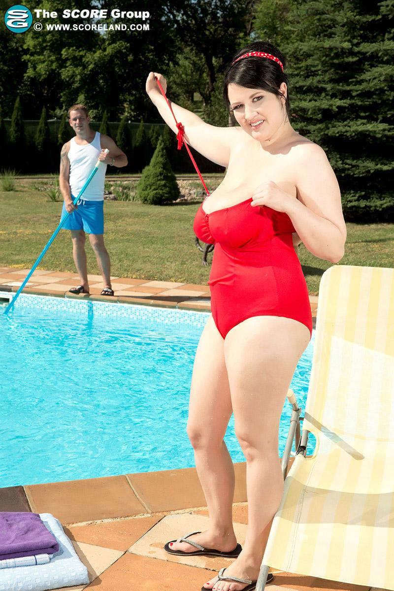 Scoreland Pool Sex, Sexy Dessous Selbstakte