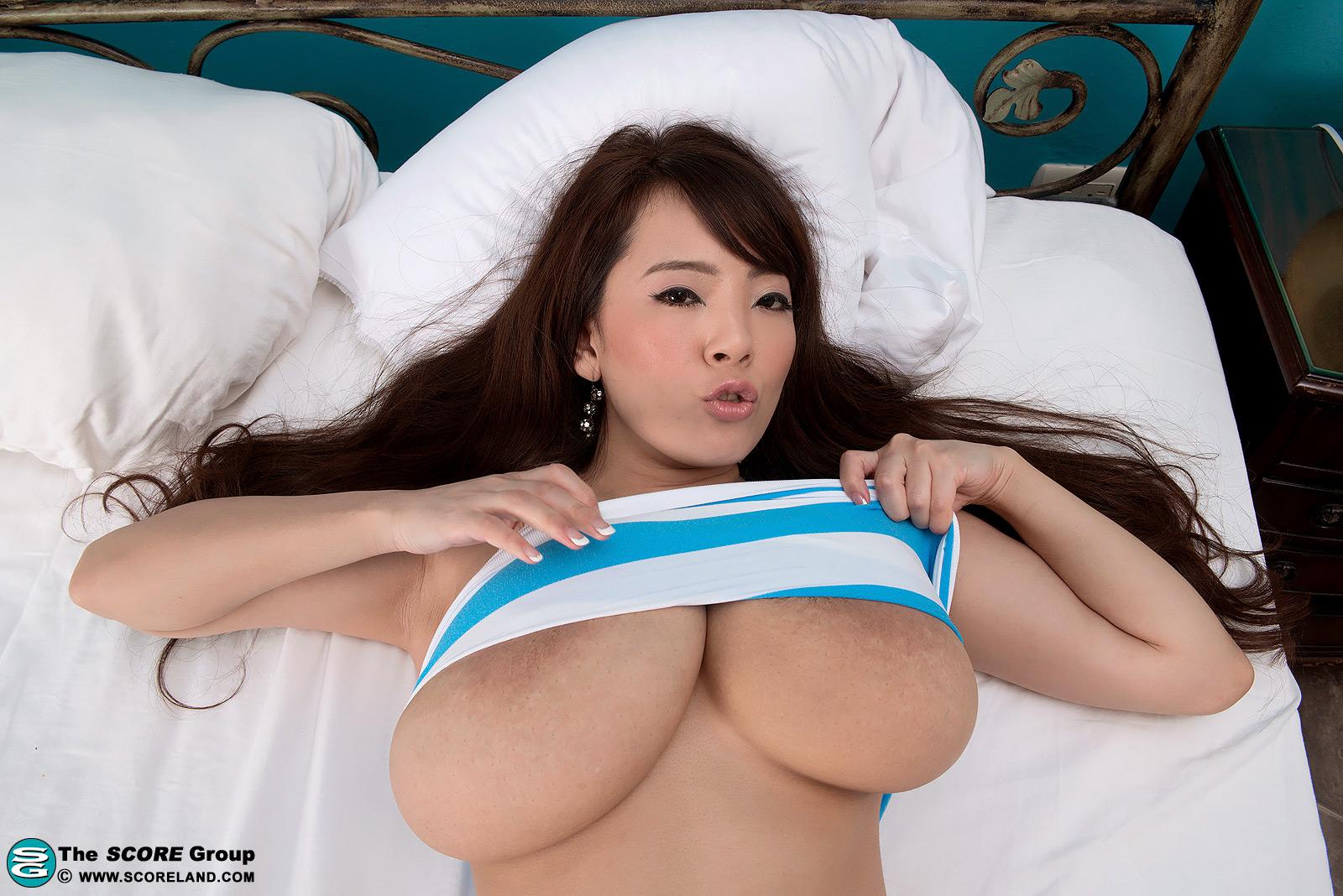 Asian massive boobies