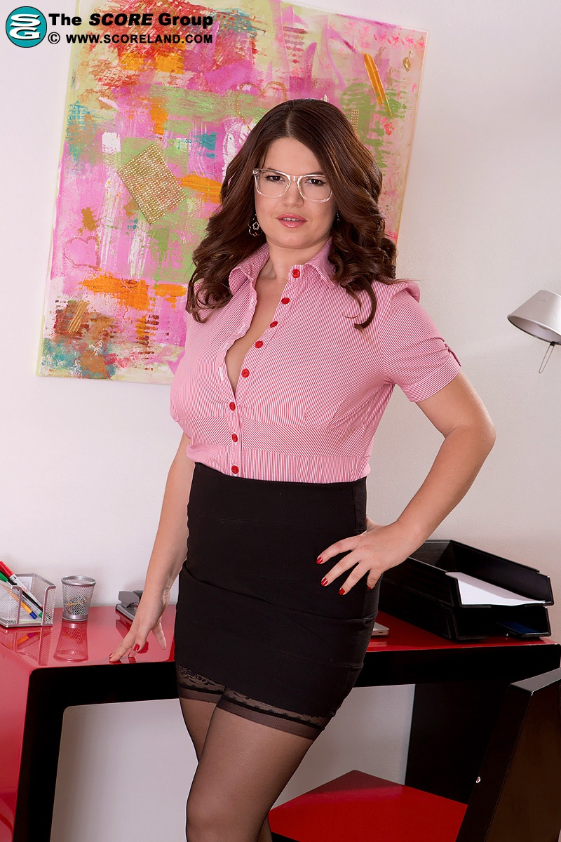 Your New Sexclusive Secretary - Vicky Soleil 65 Photos -1631