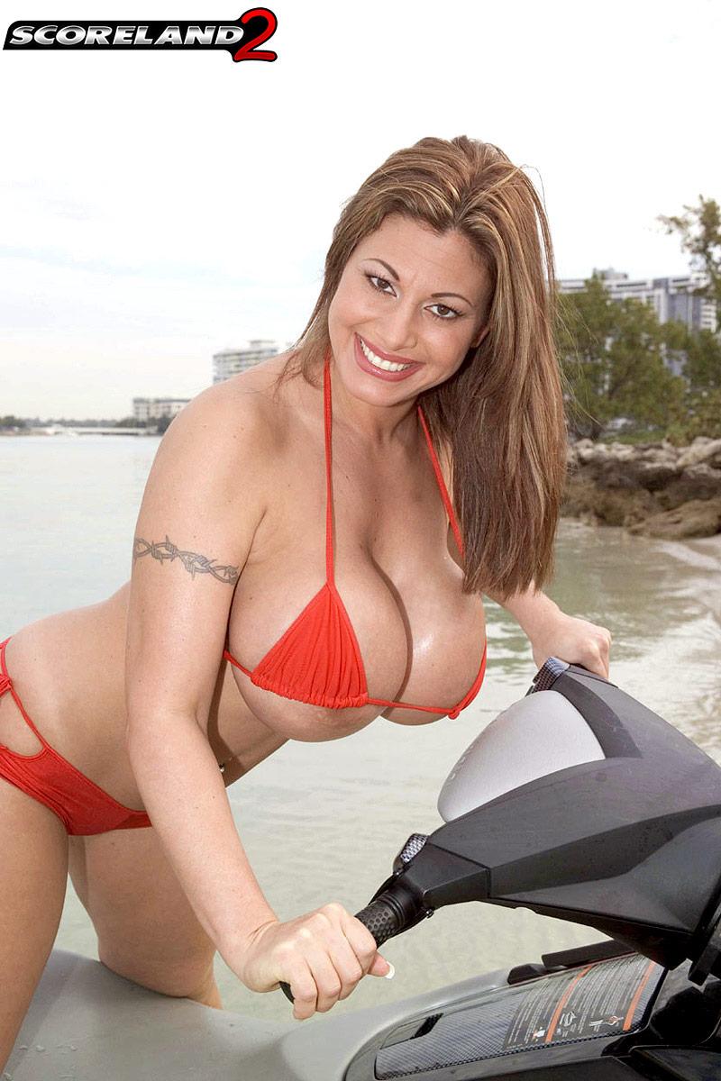Crystal gunns bikini busters pity, that