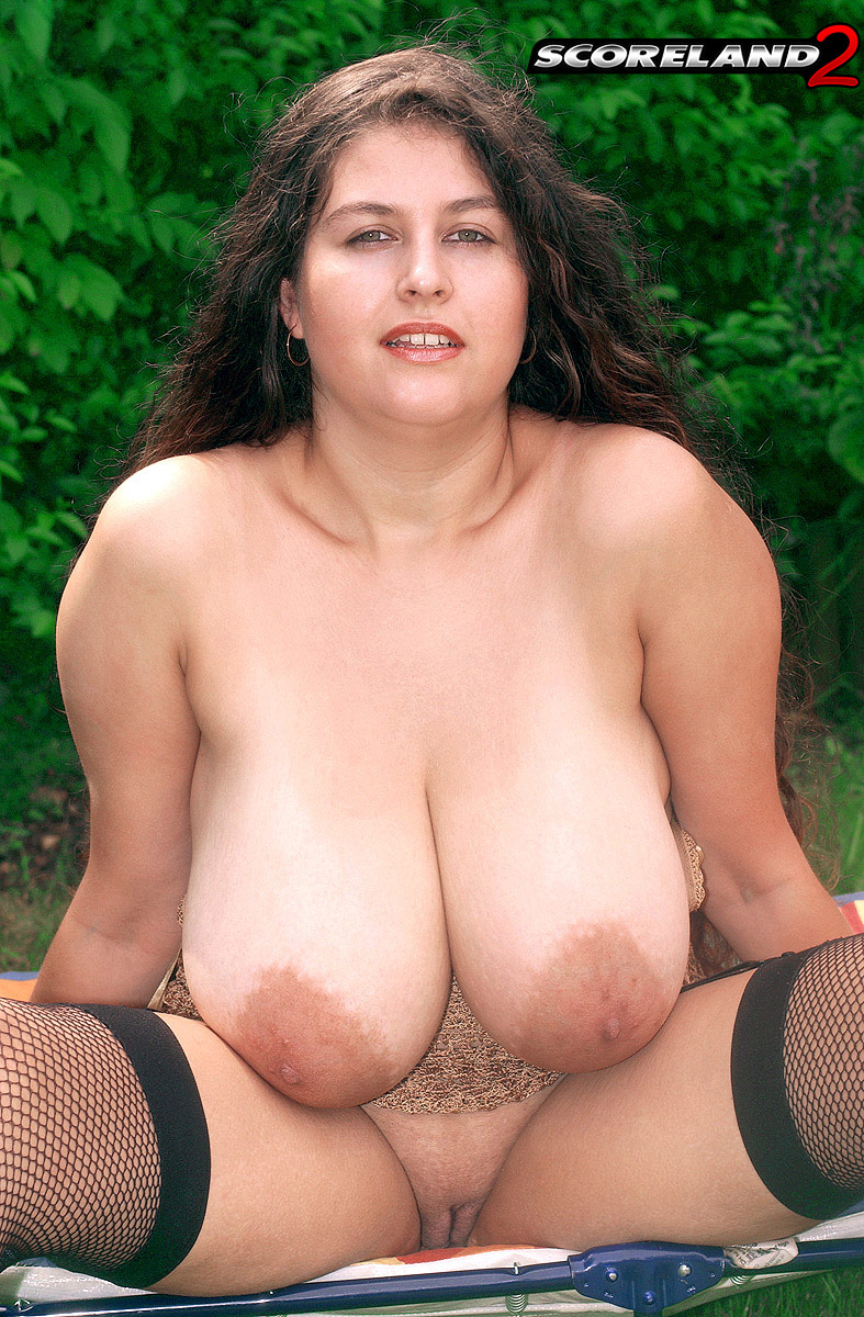 Big boob model