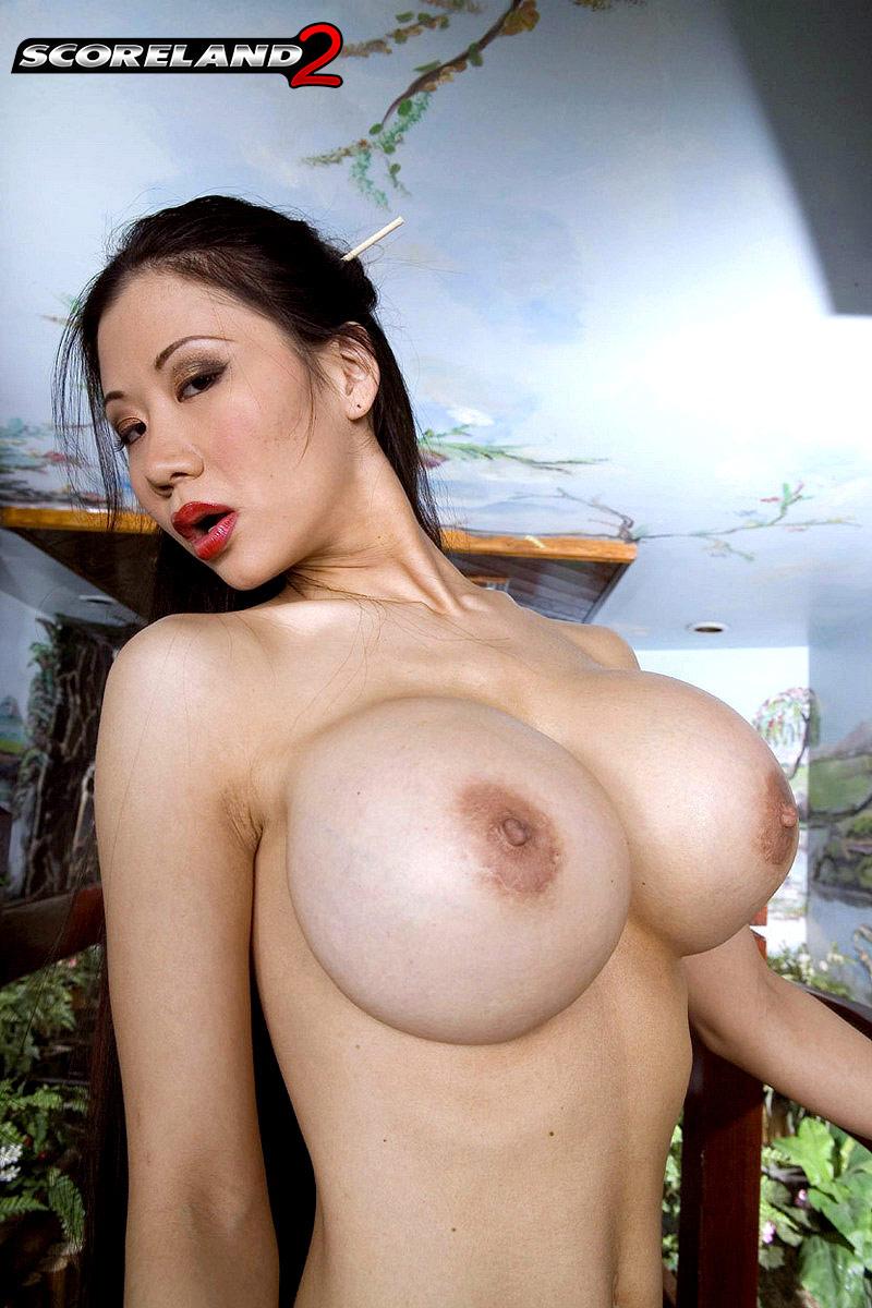 Big Fake Black Tits
