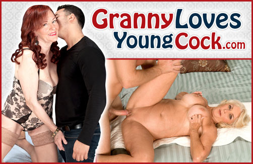 Granny Loves Young Cock